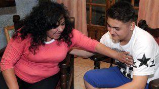 Miriam Vega y Alexis Palacios se encontraron en La Pampa y después en Mendoza.
