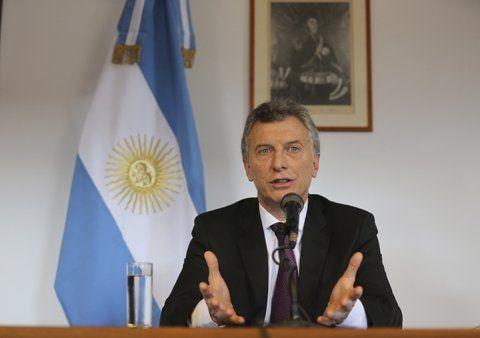 El presidente Mauricio Macri ratificó hoy que el gobierno dejará de financiar Fútbol para todos.