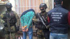 tres detenidos en allanamientos por drogas en la zona oeste de rosario