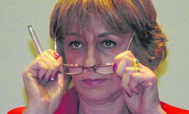 Jefa de los fiscales. El gobierno trata por todos los medios de empujar a la renuncia a la procuradora Gils Carbó.