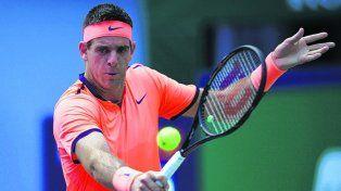 A jugar. El tandilense tuvo su estreno ayer en dobles y perdió. Hoy le toca en singles con el estadounidense Isner.