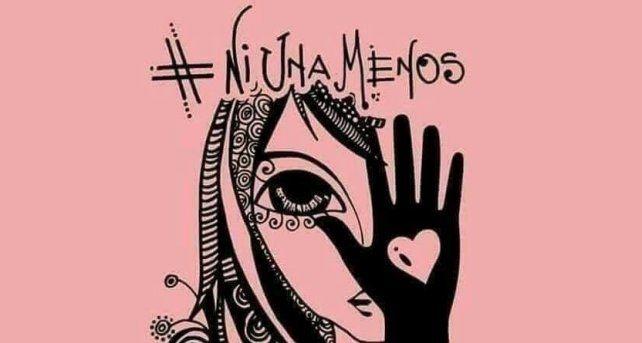 El dibujo de una artista que se volvió viral de la mano del #NiUnaMenos