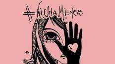 el dibujo de una artista que se volvio viral de la mano del #niunamenos
