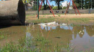 El municipio controla los sitios con acumulación de agua.