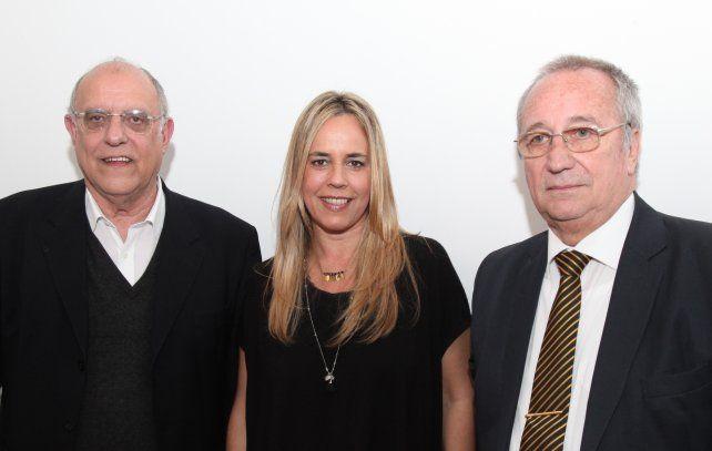 Bermúdez, Broglia, Scocco y Salazar se reunieron por un clásico rosarino sin violencia