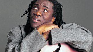 El show. El multiinstrumentista africano vive actualmente en Nueva York.