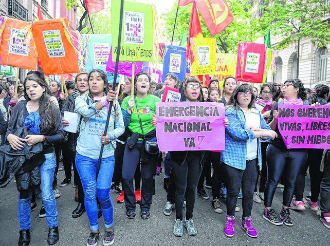 Las mujeres volvieron a alzar sus voces en contra de la violencia machista.