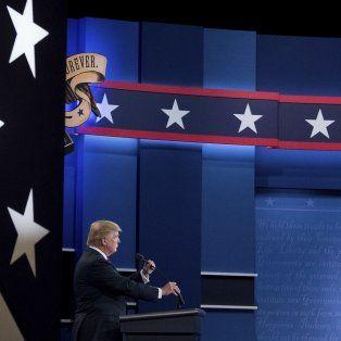 Sin gritos. Donald Trump y Hillary Clinton discutieron mesuradamente sobre inmigración y economía.