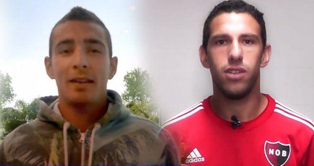 Marco Ruben y Maxi Rodríguez