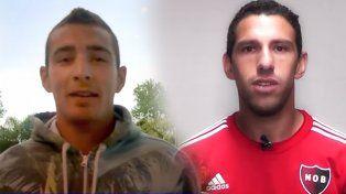 Marco Ruben y Maxi Rodríguez, referentes de los equipos de la ciudad, pidieron paz.