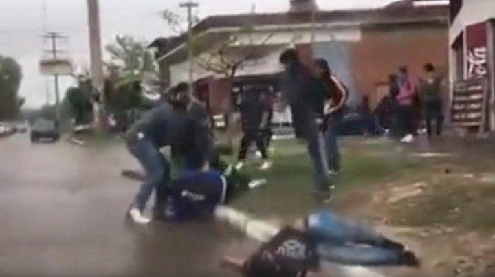 Un adolescente sufrió heridas graves tras la pelea a la salida de un boliche.