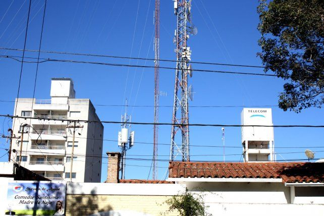 Antenas. Según denuncias