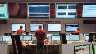 Incertidumbre. Los científicos de la ESA intentan revivir a la sonda.