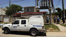 La Empresa Provincial de la Energía (EPE) informó los cortes programados de energía para el fin de semana. (Foto de archivo)
