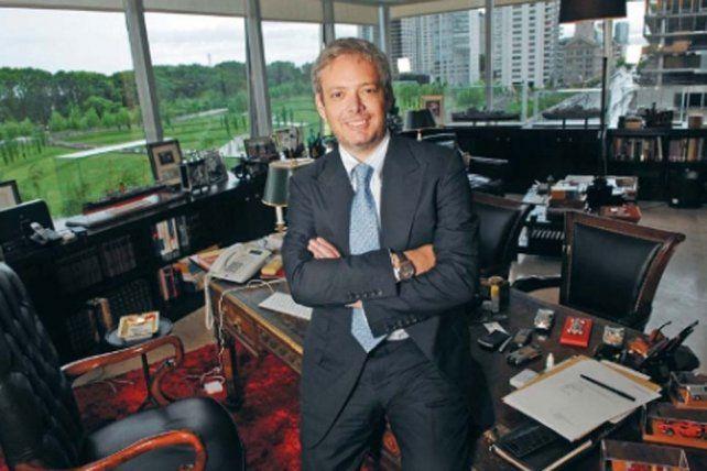 El empresario Matías Garfunkel enfrenta una demanda judicial por contrabando.