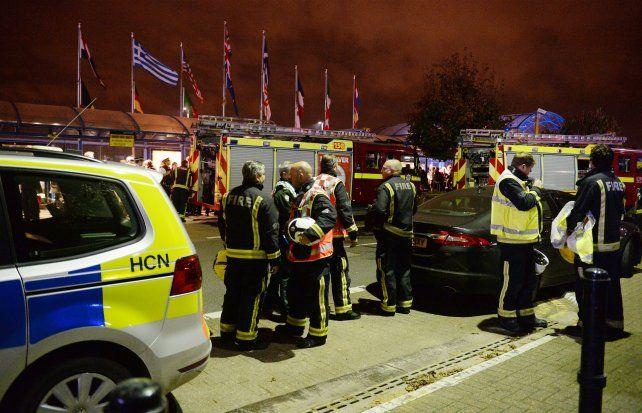 El aeropuerto City de Londres vivió momentos de tensión cuando se disparó una alarma de incendios.