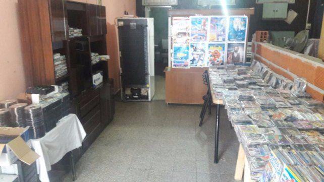 La Municipalidad realizó un importante operativo contra la venta ilegal de mercaderías