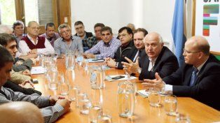 Gremialistas y empresarios le expresaron su preocupación al gobernador Lifschitz
