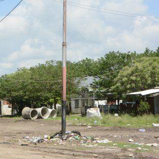 Pobreza. El barrio donde vive y atacaron a tiros a Catalino Medina.