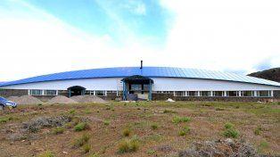 El hospital Intercultural que se construye en la provincia de Neuquén.