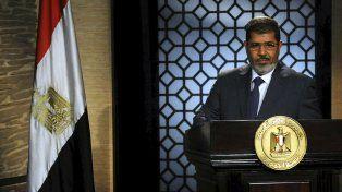 Tribunal egipcio confirmó 20 años de prisión para el expresidente Mursi