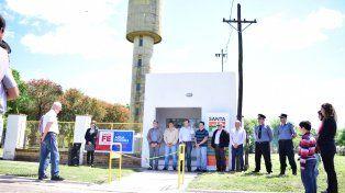Lista. La planta de ósmosis inversa permitirá mejorar el servicio en la localidad.