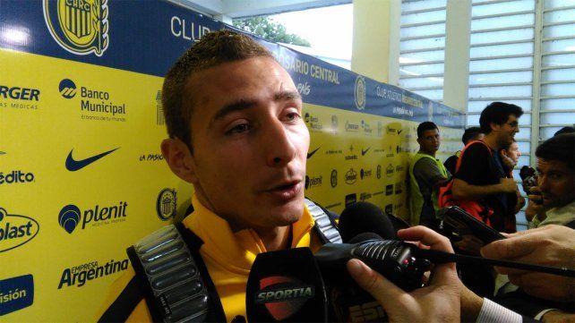 Marco Ruben lamentó la derrota canalla frente a Newells.