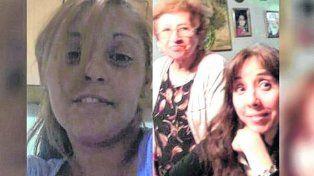 Las víctimas. Claudia Arias, de 31 años; su tía, Marta Ortiz, de 45, y su abuela, Silvia Vicenta Díaz, de 90.