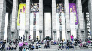 Iniciativa. El Monumento es uno de los lugares elegido para las actividades.