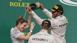 Hamilton, el dueño de la pista: se quedó con el Gran Premio de Estados Unidos
