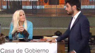 Facundo Moyano respondió en vivo sobre los rumores de romance con Susana