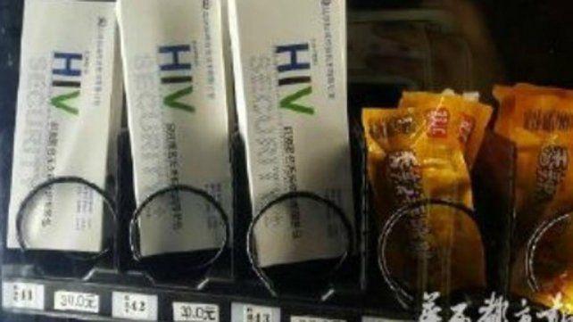 En una universidad de China venden test de VIH en máquinas expendedoras