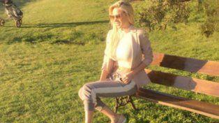 El look de Luli Salazar para una tarde de golf en Estados Unidos