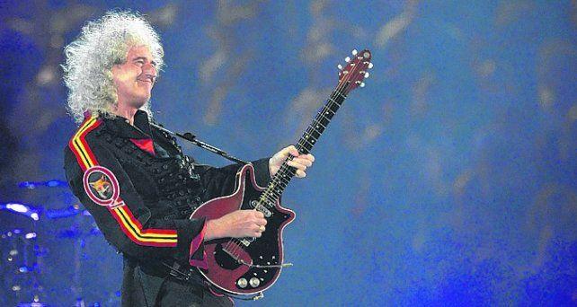 Brian May lucha contra una enfermedad