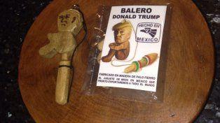 Venden curioso balero de Donald Trump hecho por artesanos del norte de México