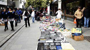 Los vendedores informales volverán a las calles del centro con un nuevo paro municipal.