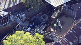 Cuatro personas murieron en una montaña rusa de agua en Australia
