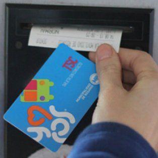los usuarios del transporte ya pueden recargar la tarjeta movi para viajar en colectivo
