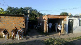 El doble crimen que estremeció al barrio La Lagunita en 2013.