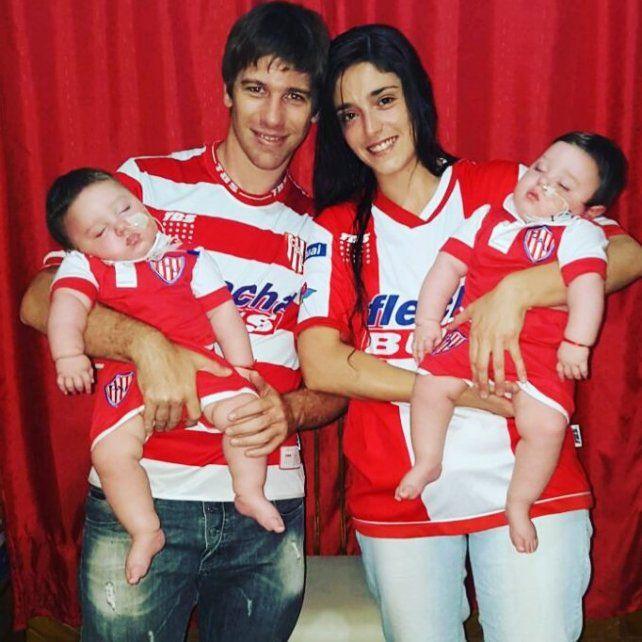 En la lucha. Melisa y Mauricio tuvieron a Ignacio y Santiago. A los 6 meses les diagnosticaron epilepsia refractaria.