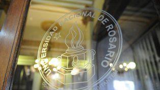 El emblema de la UNR.