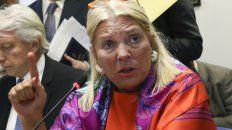 La legisladora nacional por la Coalición Cívica, Elisa Carrió, festejó la detención del exjefe del Ejército César Milani.