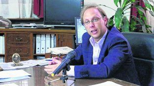 Gestor. El ministro de Economía, Gonzalo Saglione, negoció la colocación del bono de Santa Fe en el exterior.