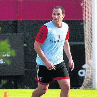 Mauro Matos. El delantero se repone de una tendinitis en el tendón de Aquiles. Ayer lució recuperado.