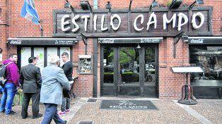 ¡Qué almuerzo! Sin invitar a los cinco grandes de Buenos Aires