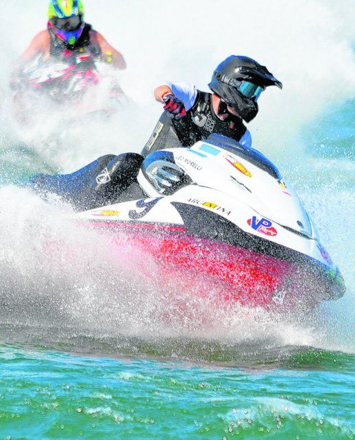Mundial de motos de agua: el rosarino Leonel Morelli se metió en el top ten