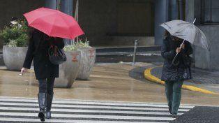 Rige un alerta meteorológico por vientos fuertes con ráfagas para el sur de Santa Fe