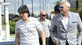 Luciano Cefaratti y Ricardo Carloni, los vicepresidentes de Rosario Central.
