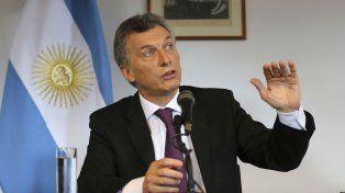 El presidente Mauricio Macri trazó los lineamientos de la política que llevará adelante en Aerolíneas Argentinas.