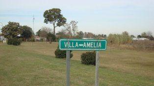 Acá cerca. El campo está a unos 25 kilómetros al suroeste de Rosario.